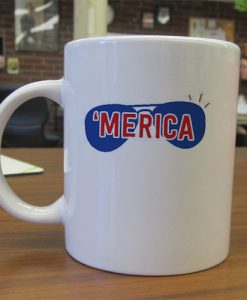 merica independence day mug gift