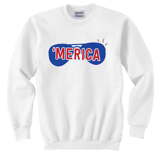 merica independence day sweater gift