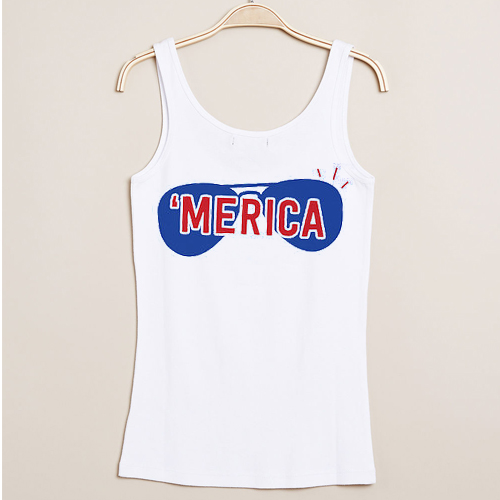 merica independence day tanktop gift