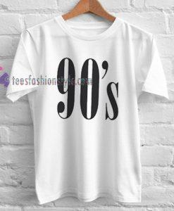 90's Style Tshirt gift