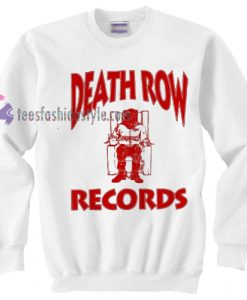 Death Row Records sweater gift