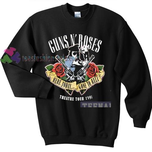 Guns N' Roses Theatre tour 1991 sweater gift