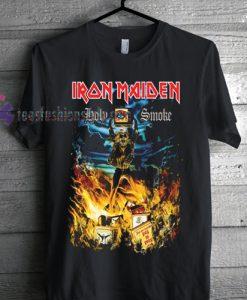 Iron Maiden Holy Smoke Tshirt gift