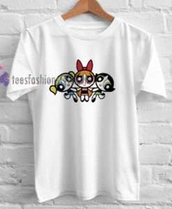 Powerpuff Girls Fun Popular Cartoon TV Show Tshirt gift