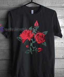 Rose Floral Tshirt gift