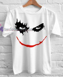 joker face Tshirt gift