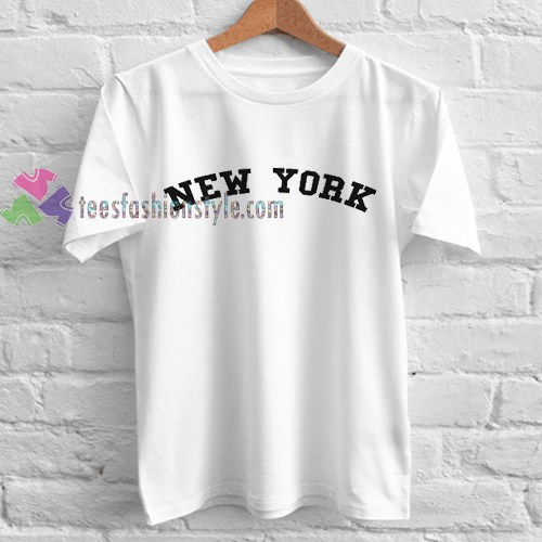 New york ringer tshirt gift adult unisex custom clothing for Custom dress shirts nyc