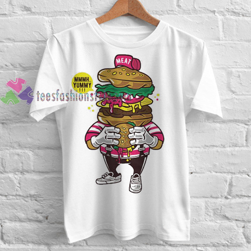 Burger Lover Tshirt gift