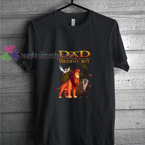 Lion King Birthday Tshirt Gift