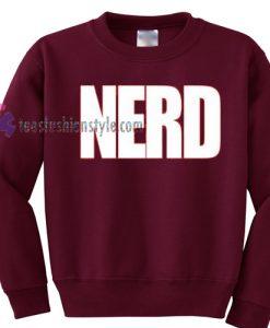 Nerd sweater gift