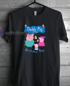 Peppa Pig Birthday Tshirt gift