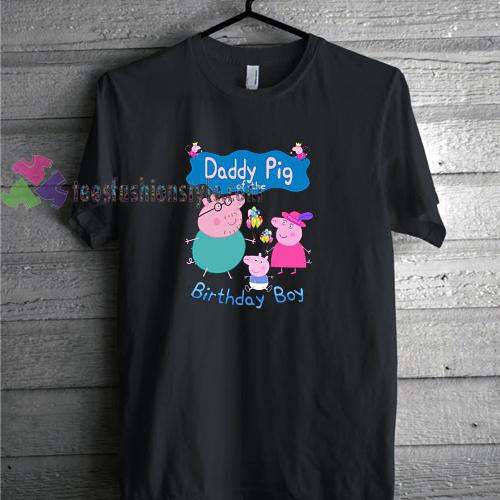 Peppa Pig Birthday Tshirt Gift