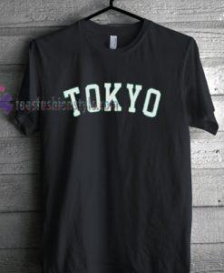 Tokyo Tshirt gift cool tee shirts