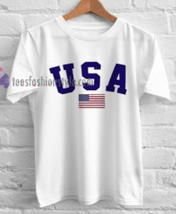 USA Flag Tshirt gift