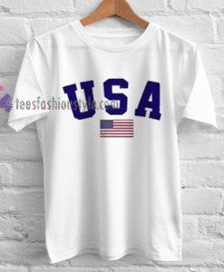 USA Flag Tshirt gift