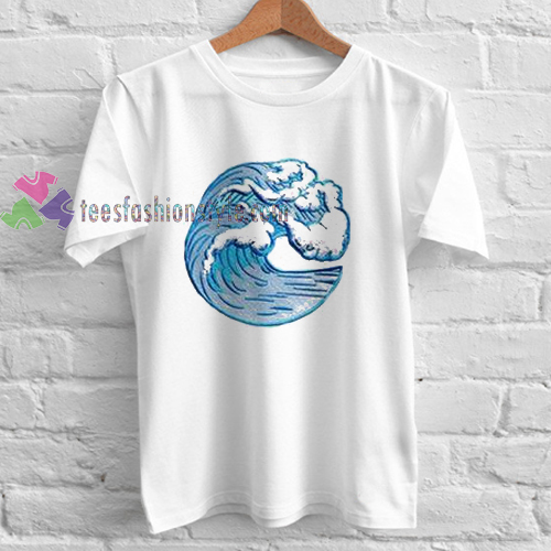 Wave unisex Tshirt gift