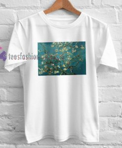 Almond Blossoms Tshirt gift cool tee shirts