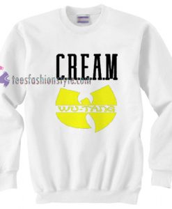 Cream Wu Tang Hip Hop Legend Sweatshirt gift cool tee shirts