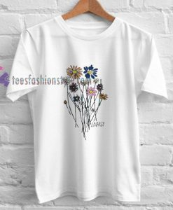 Gnarly Bouquet Flower Tshirt gift cool tee shirts