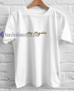 Los Angeles Tshirt gift cool tee shirts