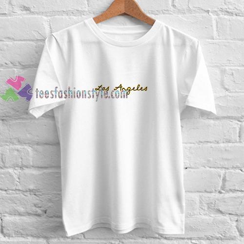 Los Angeles Tshirt gift cool tee shirts