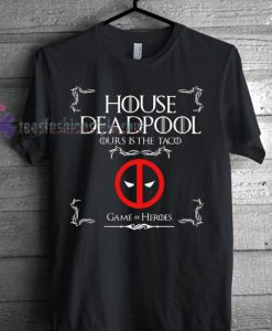 House Deadpool Mens Funny T-shirt gift