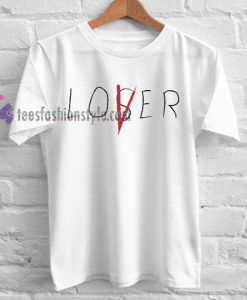 IT Movie Losers' Club 'Lover' Cast T-Shirt gift