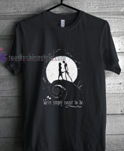 Jack Skellington Sally t shirt