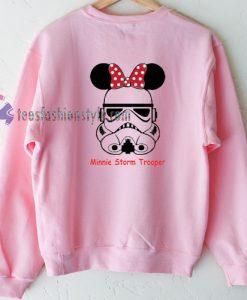 Minnie Storm Trooper Sweatshirt Gift sweater cool tee shirts