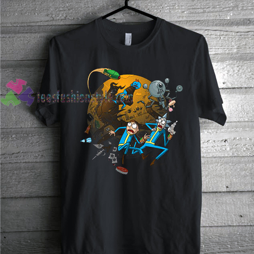 Rick & Morty Gaming Themed Geek Nerd Fan T Shirt gift