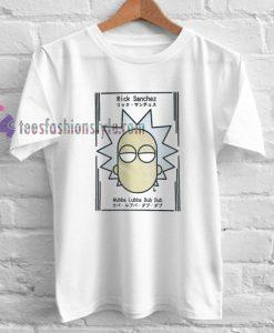 Rick Sanchez Japanese Minimalist T Shirt gift