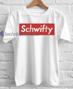 Rick and Morty Supreme Inspired Schwifty T Shirt gift