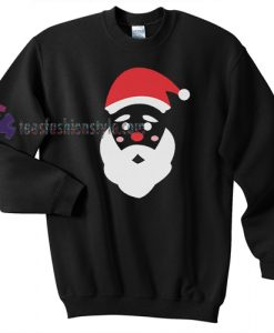 Santa's face Christmas Sweatshirt Gift sweater cool tee shirts