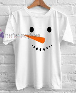 Snowman Holiday Christmas T Shirt gift tees cool tee shirts