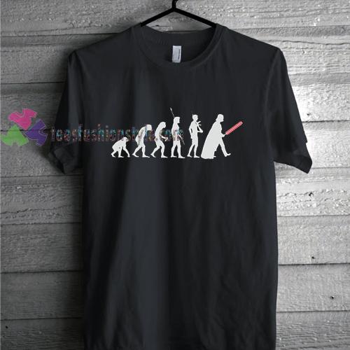 Star Wars The Last Jedi Evolution shirt gift tees cool tee shirts