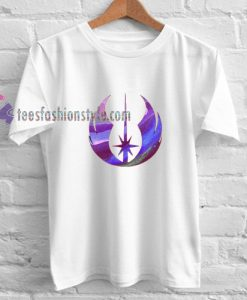 Star Wars Jedi Purple Watercolor shirt gift tees cool tee shirts