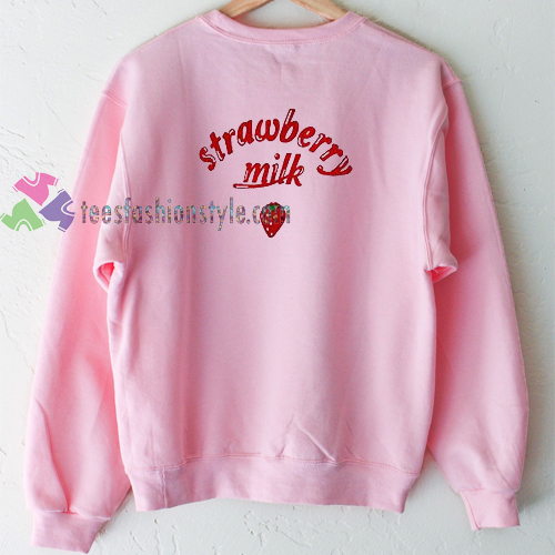 Strawberry Milk Sweatshirt Gift