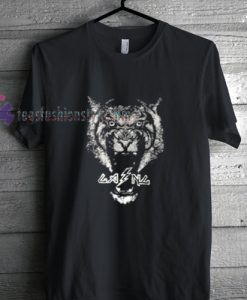 white Tiger logo t shirt gift