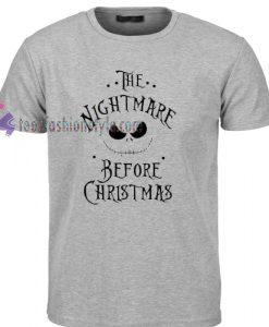 The Nightmare Before Christmas T Shirt gift tees cool tee shirts