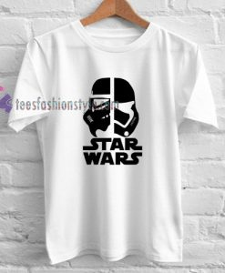 Stormtrooper vs Darth Vader t shirt gift tees cool tee shirts