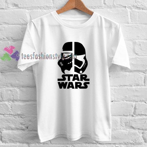 Stormtrooper vs Darth Vader t shirt gift tees cool tee shirts