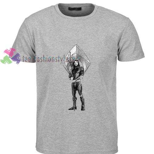 Aquaman Trident t shirt