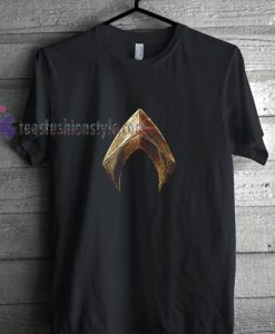 Aquaman logo t shirt