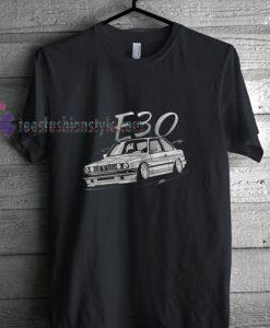 BMW E30 t shirt