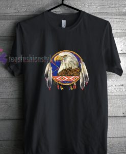 Eagle and dreamcatcher t shirt