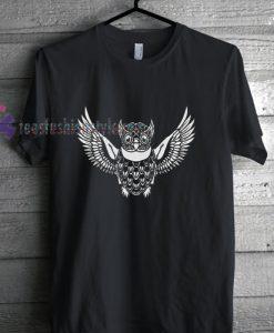 Flying Owl t shirt