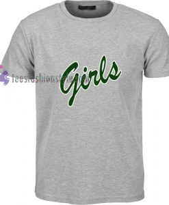 Girls green simple t shirt