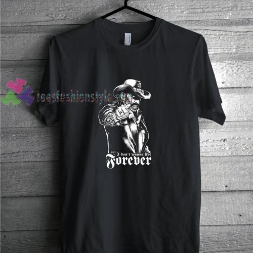 LEMMY ZOMBIE Parody t shirt