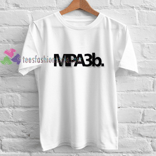 MPA3B white t shirt