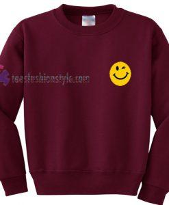 Smiley wink Eyes Sweatshirt